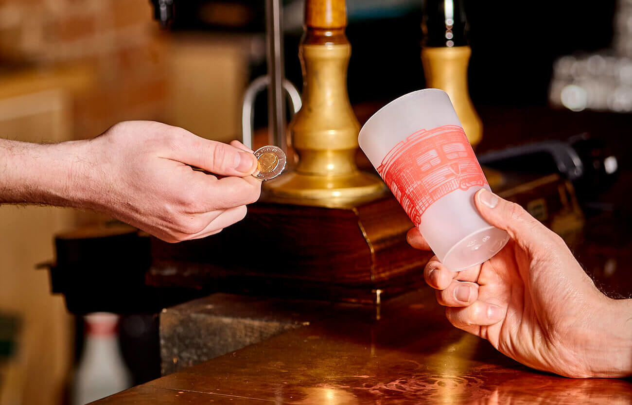 Setting Up Reusable Cups At Your Event Part 1: $2 Deposit system